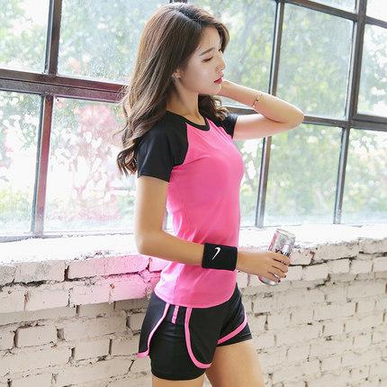 瑜伽运动套装女秋季专业初学者健身房瑜珈速干弹力春夏两件喻咖服