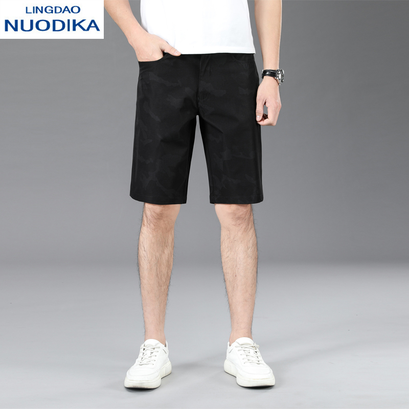 Novika shorts mens trend Capris summer wear casual slim breeches camouflage large straight summer pants