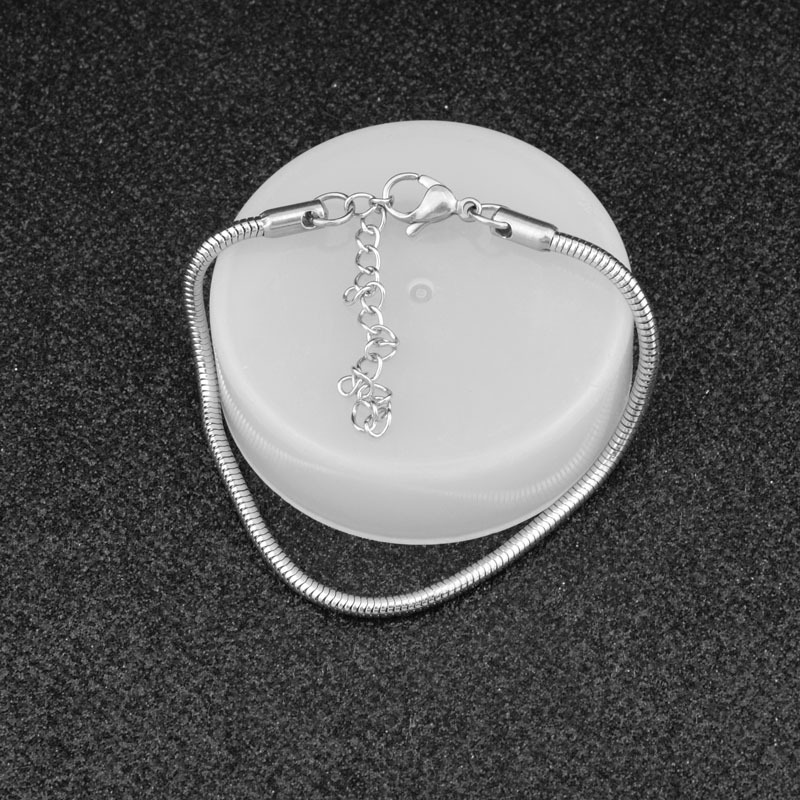 [star tale] 3.0 fashion versatile soft snake chain bracelet for men and women