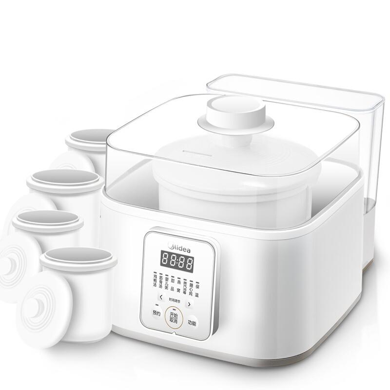 美的全自动智能家用隔水炖电炖锅好用吗