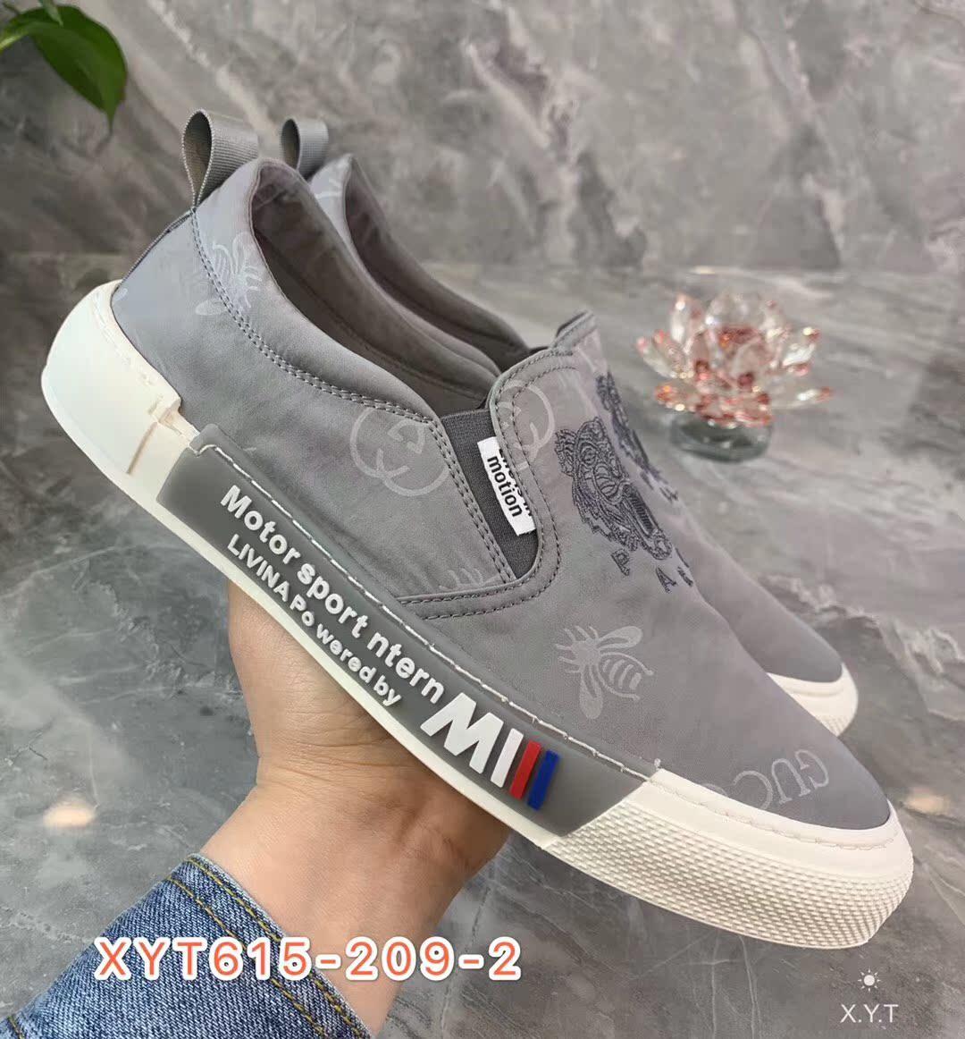 【西亚图】20年新款布鞋百搭鞋潮鞋休闲鞋刺绣38-43码黑色灰色
