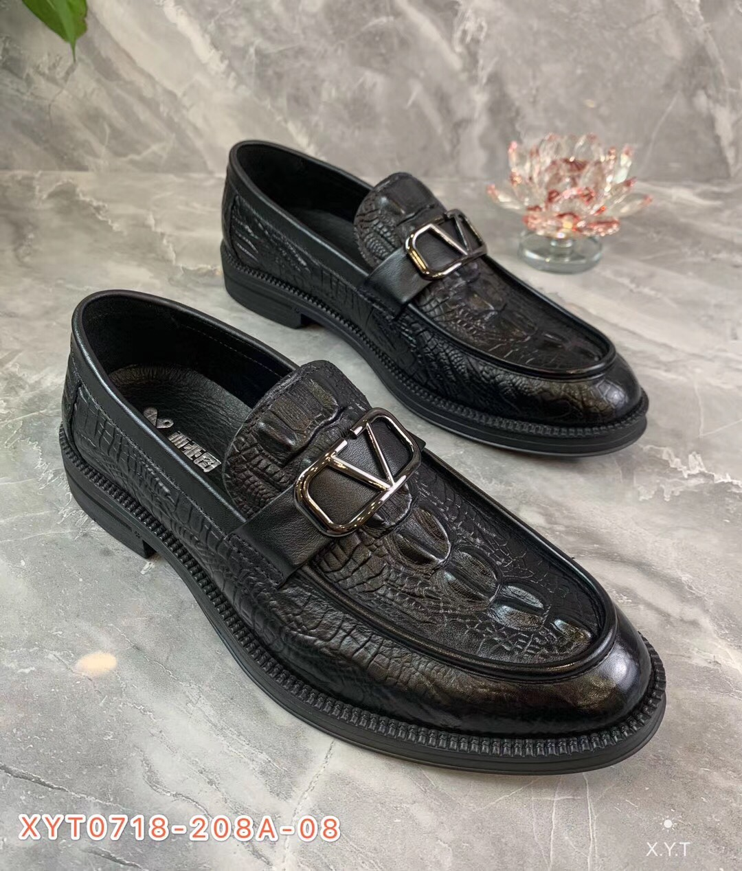 [West Asia pictures] 20 years new British trend soft sole leather mens Korean casual shoes and shoes