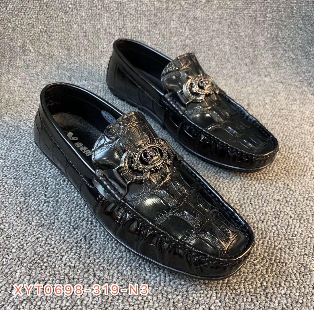 【西亚图】20年新款豆豆鞋懒人鞋一脚蹬休闲鞋软底真皮鞋