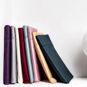 100支匹马棉贡缎纯棉一对装枕芯套