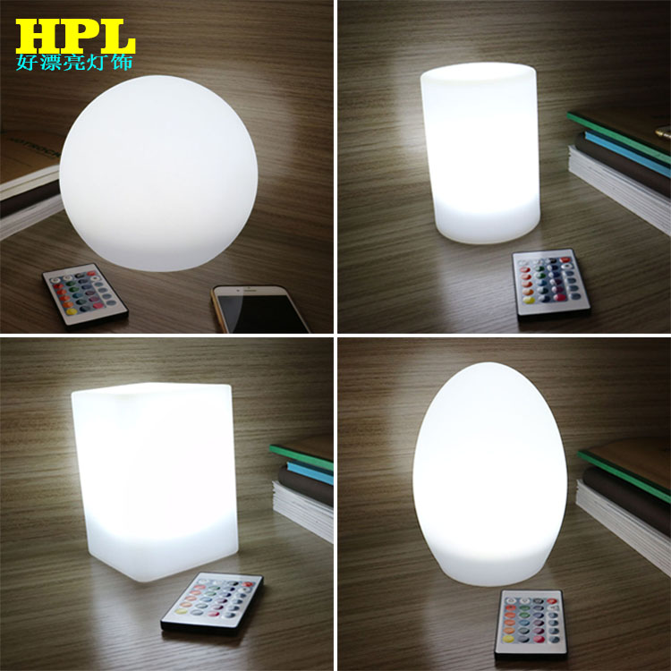 LED bar net red atmosphere lamp remote charging Mini night lamp IKEA decorative table lamp student dormitory table lamp