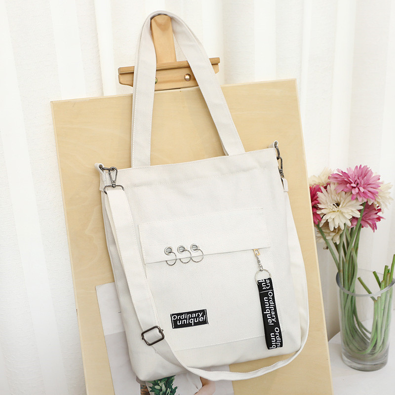 Korean version of chic canvas bag for female students