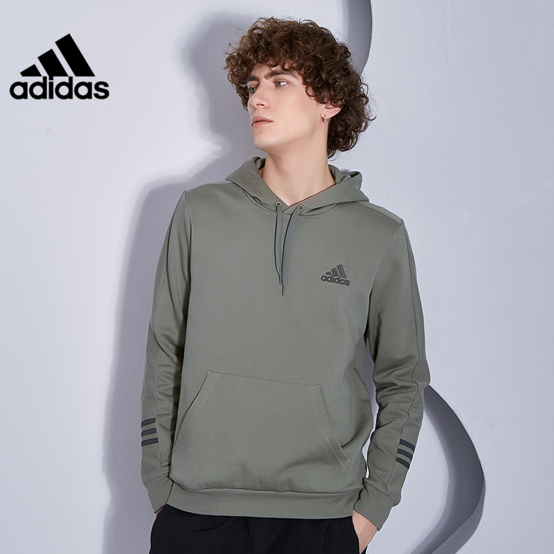 Adidas official website authorized 2020 winter new men's sports and leisure hooded sweater pullover GD5446