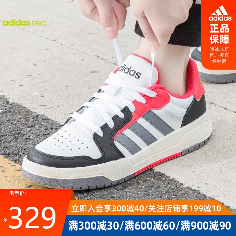 阿迪达斯官网授权NEO 2020春季新品女子休闲鞋板鞋 EH1466图片