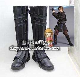 星球大战 Anakin-Skywalke 天行者 安納金 cosplay鞋子K40 黑色版图片
