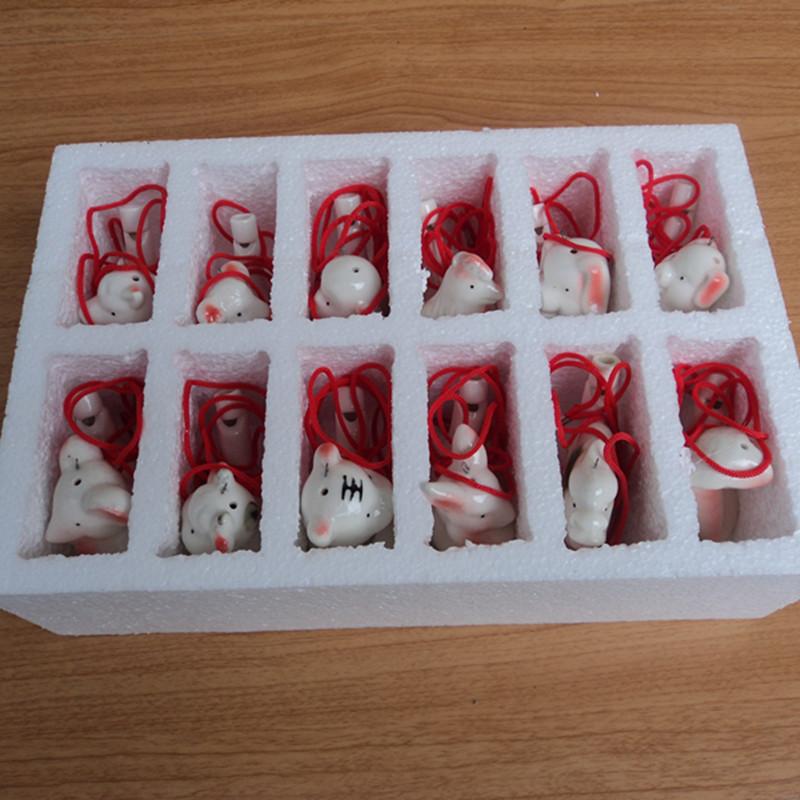 创意陶瓷水鸟口哨哨子玩具儿童生日礼物创意礼品玩具