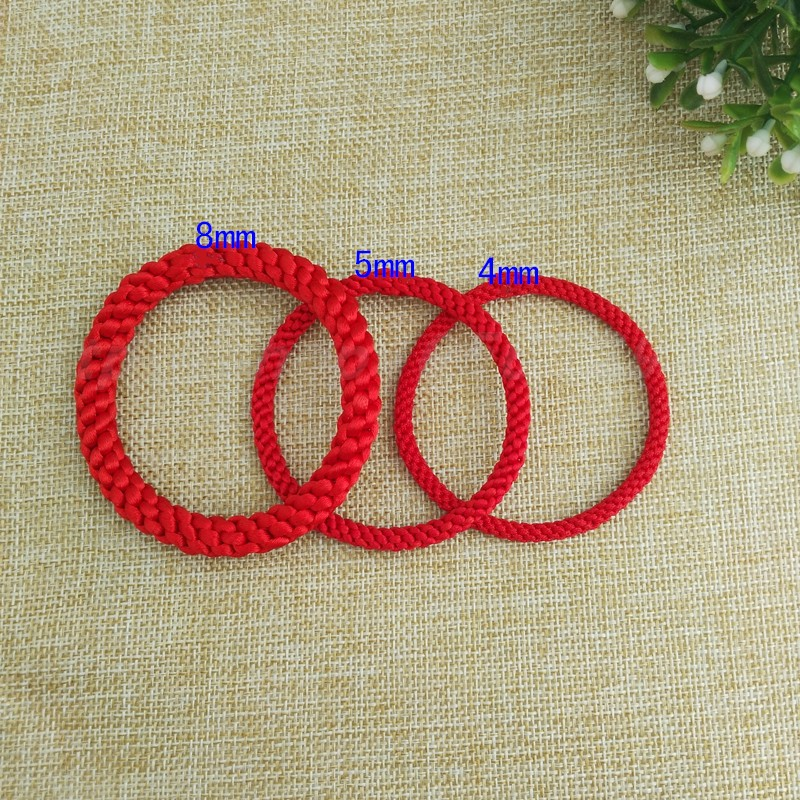 Hand woven non buckle Rope Bracelet THICK BRACELET RED ROPE man and woman couple hand rope black blue yellow green purple rope