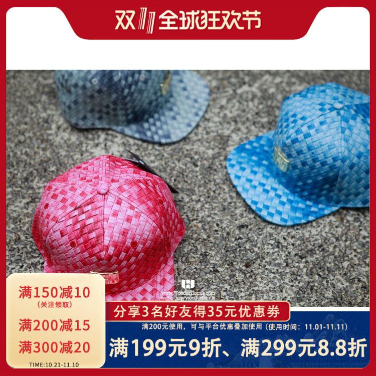 WONDER HOMIE 『编织系列』 蓝色|粉色|灰色 三色入