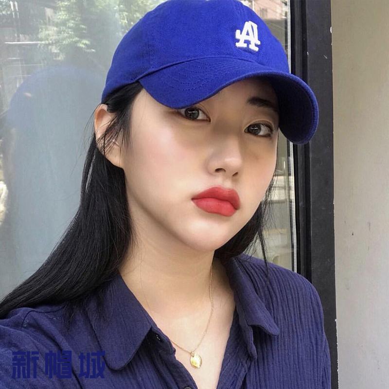 新帽城 韩国MLB  小LA 棒球鸭舌帽 防晒遮阳帽百搭男女时尚太阳帽