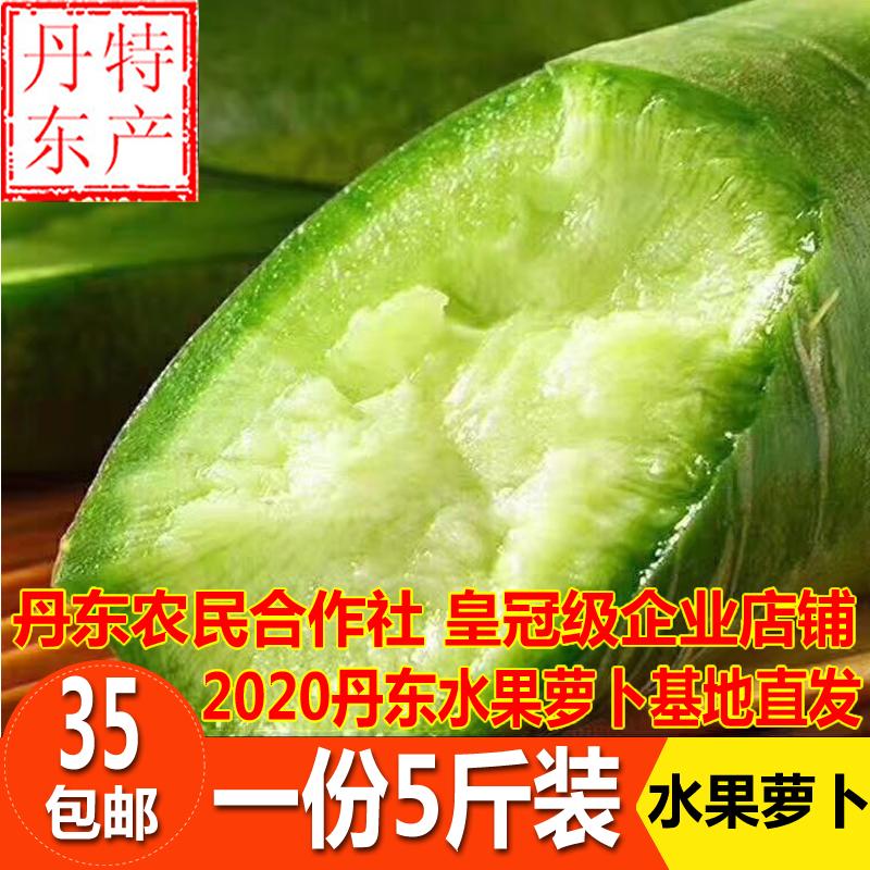 丹东水果萝卜九连城萝卜非天津山东萝卜新鲜蔬菜青萝卜东北特产