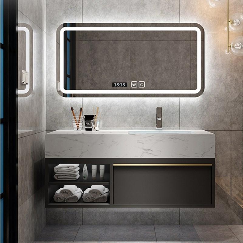 挂墙现代轻奢洗手间洗手洗脸台盆柜