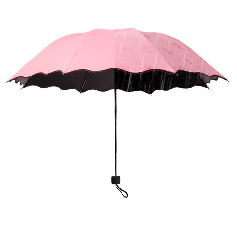 晴雨伞女折叠两用遮阳太阳伞大号防晒防紫外线广告伞印字定制logo