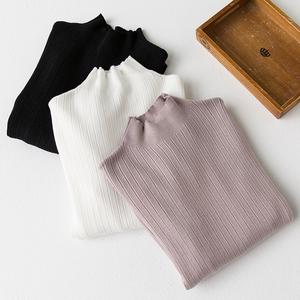 實拍2019秋冬新款半高領 高品質打底毛衣