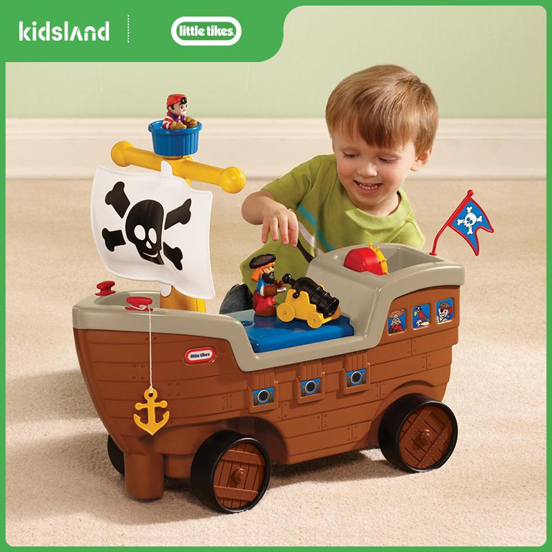 littletikes小泰克游戏车海盗船儿童玩具滑行车学步车可骑行童车券后399.00元