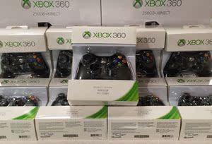 微软全新原装XBOX360有线无线游戏手柄 SLIM版支持电脑PC手柄