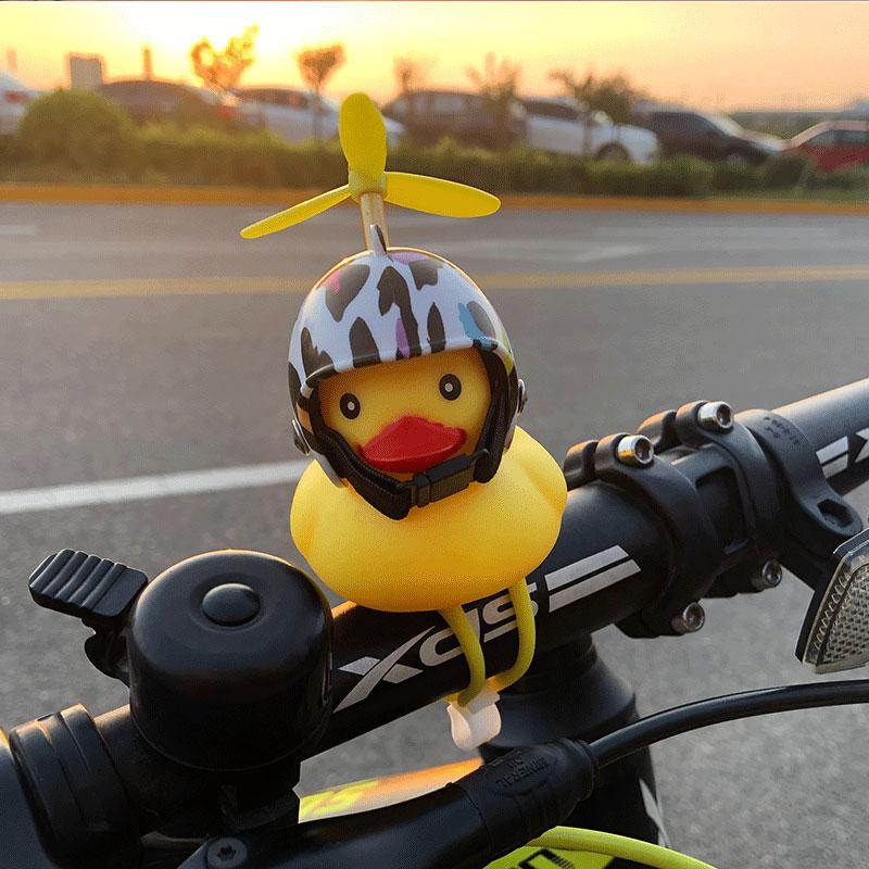 破风鸭小黄鸭抖音同款带涡轮增鸭电动车摩托车自行车骑行车把喇叭热销30件限时2件3折