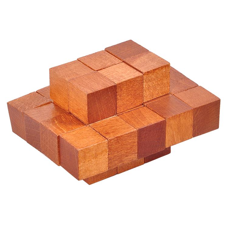 成人木制益智玩具 古典玩具 孔明锁鲁班锁榉木三十二块神龙摆尾