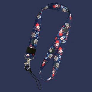 春夏碎花可卸载网红手机挂绳挂脖绳子吊绳女款通用小米手机链挂饰