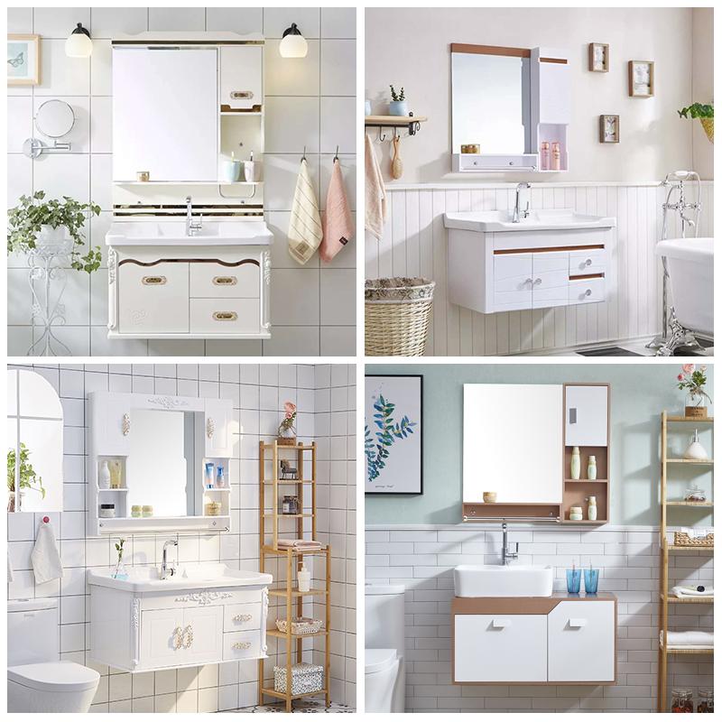 11月28日最新优惠欧式607080cm小户型一体镜柜浴室柜