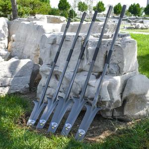 锰钢加厚挖树铲子铁锹农用户外树根