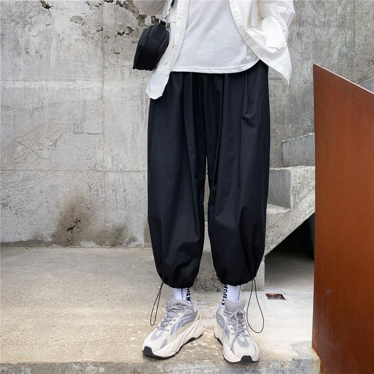 10-11新券日系复古阔腿秋季直筒潮牌男工装裤