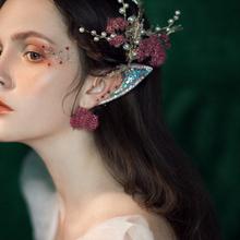 アーティファクトの写真の小道具のモデリング偽エルフ耳のセン部門は孟を販売するパーティーウエディングドレスクリスマスコスプレ