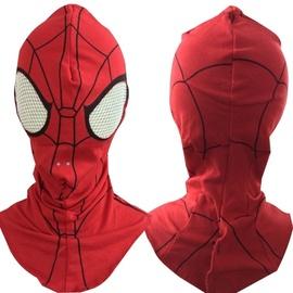 蜘蛛侠头套可动眼超凡蜘蛛侠头套面罩成人儿童COS死侍面具帽子图片