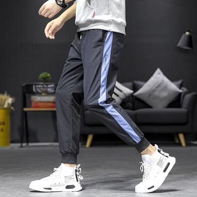 休閑褲男哈倫運動褲日系寬松工裝束腳港風 主推有差價SK6611-P40