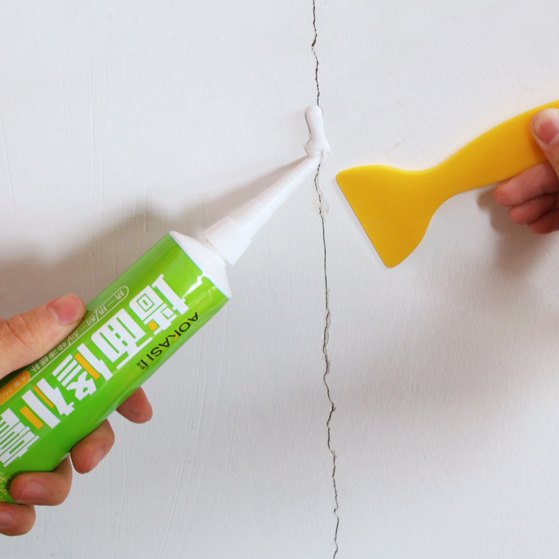 补墙膏2支+工具