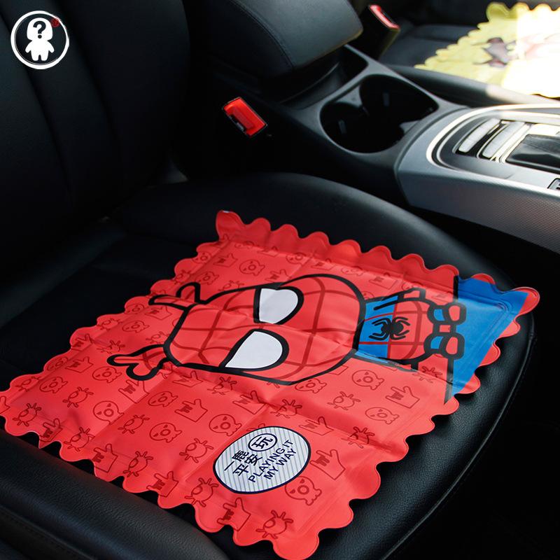 汽车夏季凉爽冰垫降温创意卡通家居办公座椅凝胶冰凉坐垫包邮