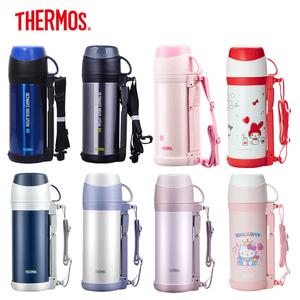 膳魔师不锈钢保温壶户外暖壶瓶家用热水瓶大容量旅行杯旅游水壶1L