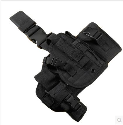 多功能战术腿包绑腿鞍袋工具包 杂物包组合腿包 腿板腿挂多功能包