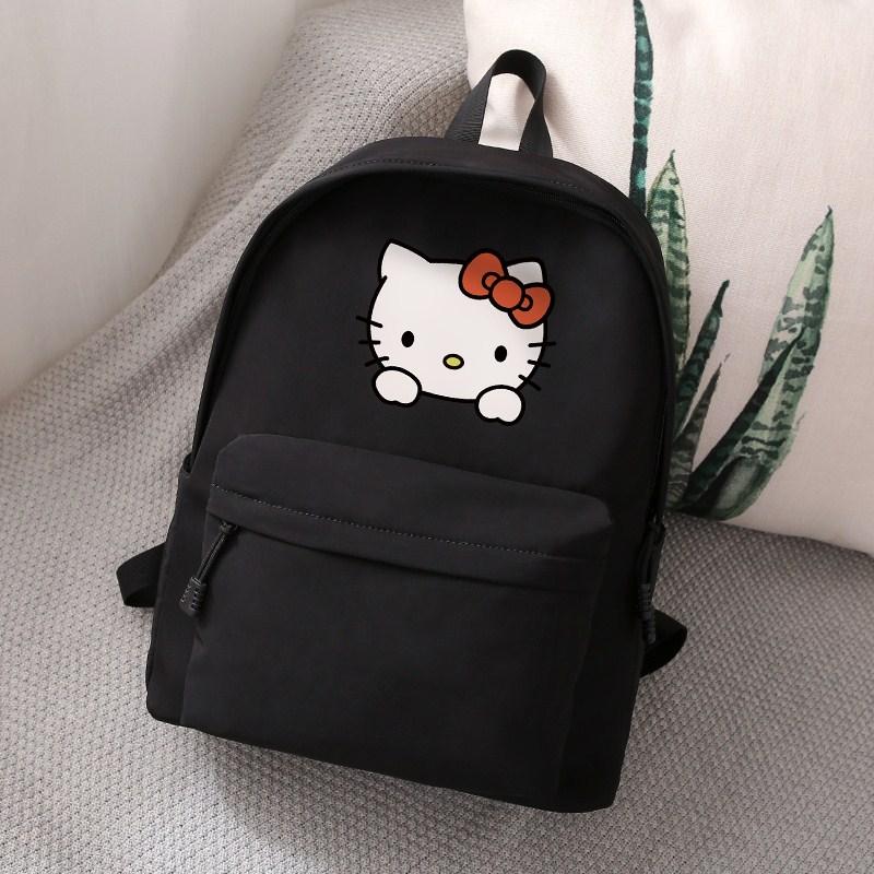 �P蒂�hello kitty�n版�p肩背包�W生��包卡通�H子��包KT�旅行包