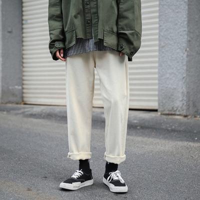 A337-AK231-P55 直筒休闲裤男长裤