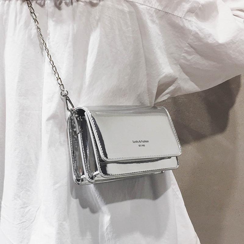 法國小眾高級感包包女2019新款洋氣網紅小黑包質感斜挎包百搭ins