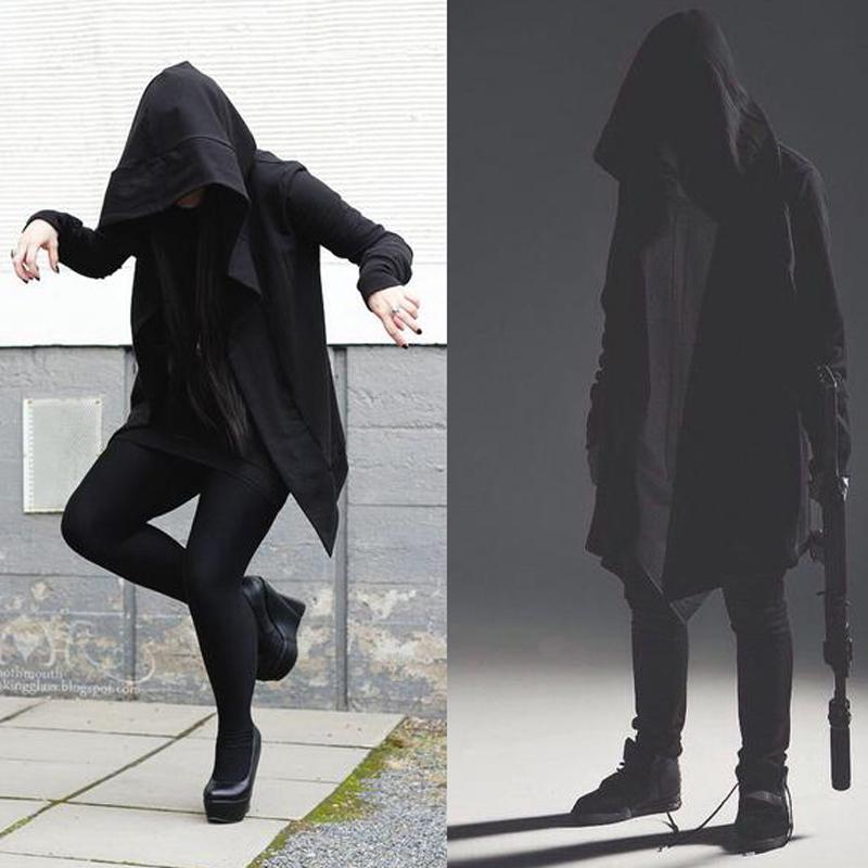 刺客信条秋冬装刺客教条起源风衣男中长款加绒外套连帽开衫卫衣潮