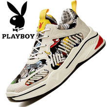Playboy Men's Shoes 2009 Summer Graffiti Daddy's Shoes Sports Leisure Shoes