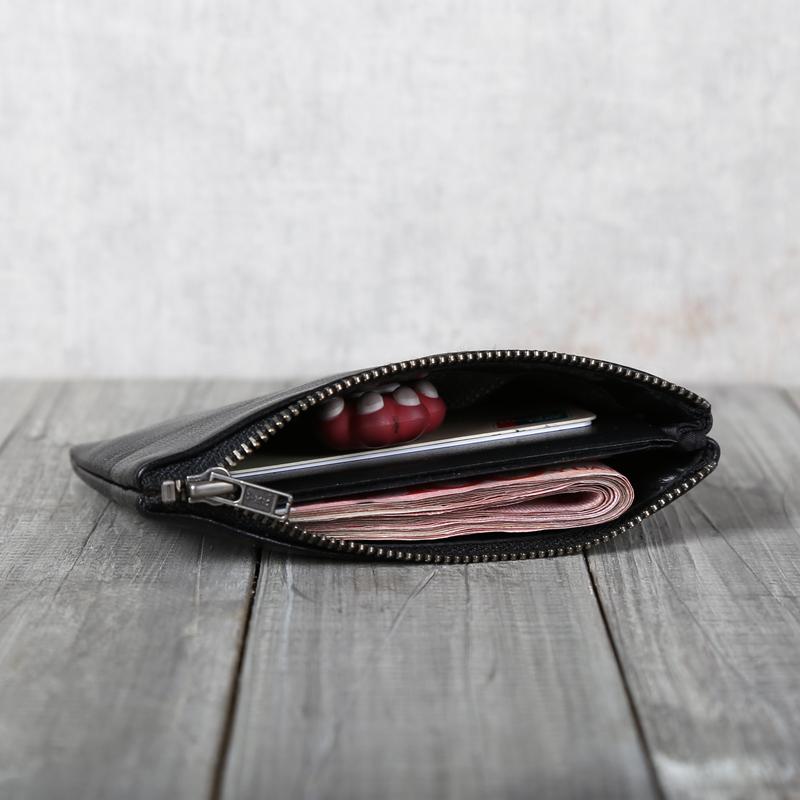 【天天特价】深山九处原创设计绵羊皮零钱包钱包钱夹卡包情侣款