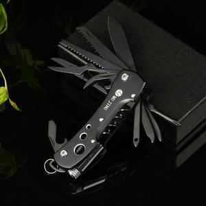 多功能军刀户外野营随身便携折叠式小刀具组合自驾水果钓鱼工具刀