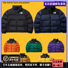 The North Face 1996 NUPTSE TNF黑色男女北面羽绒服外套NJ1DL50A