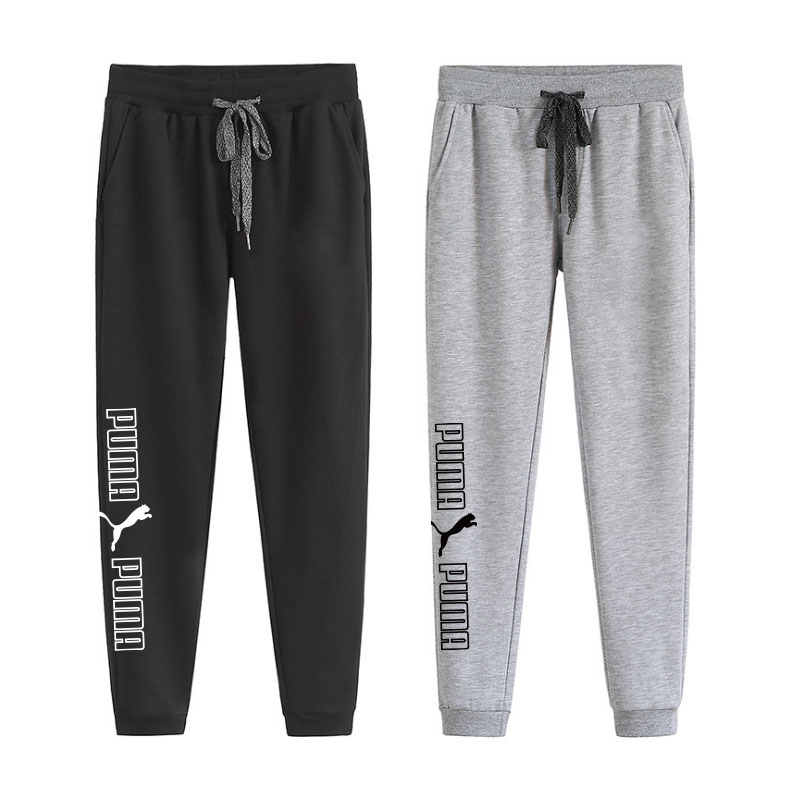 Men and womens fashion printed sports pants cotton pants logo