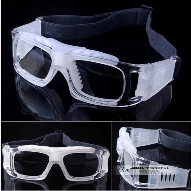Sports glasses basketball glasses myopia prevention eye protection anti fog sports glasses football with myopia glasses frame man