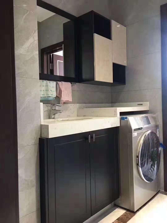 康洁整体家居定制浴柜--吸塑浴柜
