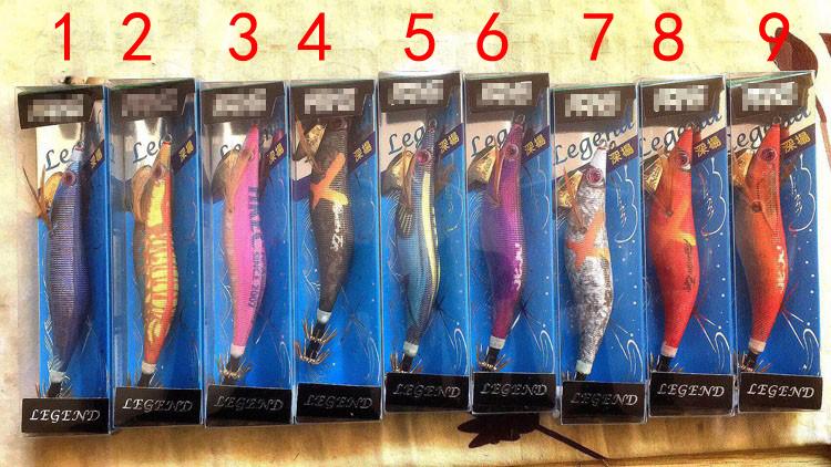ヤマエビの輸出は日本の高級な木エビのイカの針の柔らかい糸の3.5〓〓20.5グラムのルアーの魚のえさの夜の光のレーザー光線です。