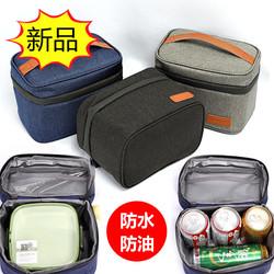 保温饭盒袋上班小号日韩防水防油学生便当包手提装午餐带饭的袋子