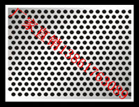 Перфорация панель Оцинкованная сетка с круглым отверстием панель 304 нержавеющая сетка панель Сетка из пористой сетки из нержавеющей стали панель Дробящее сито
